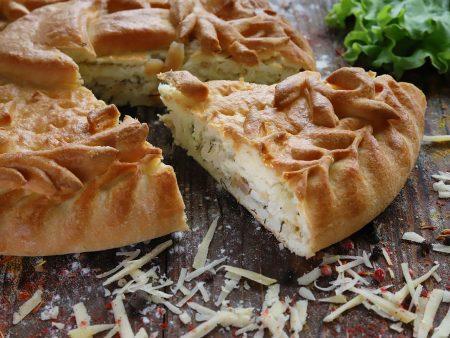 Пирог с адыгейским сыром По-«Осетински»